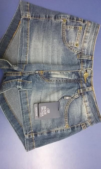 Short´s Jeans Base Rosa Denim