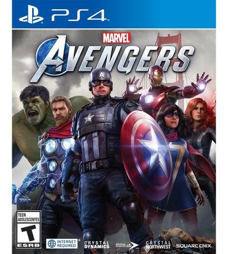 Marvel Avengers Ps4 Formato Físico Original
