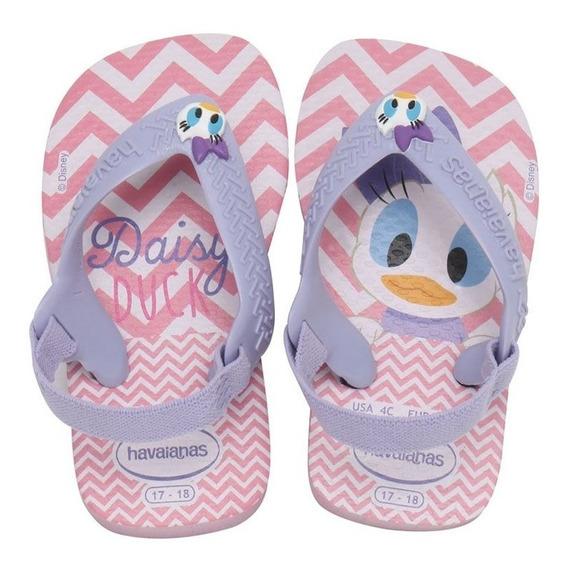 Chinelo Havaianas New Baby Disney Margarida - Original