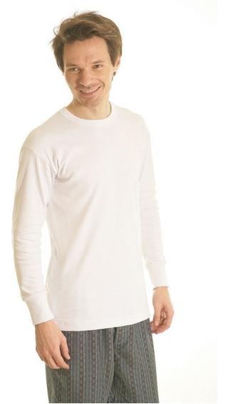 Camiseta Termica Manga Larga Escote Redondo