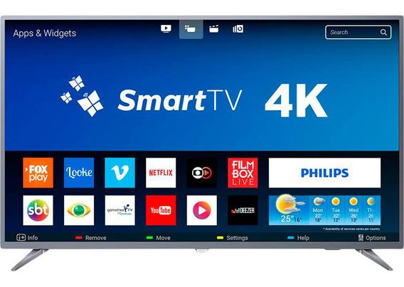 Smart Tv Led 55 Philips 55pug6513/78 Ultra Hd 4k