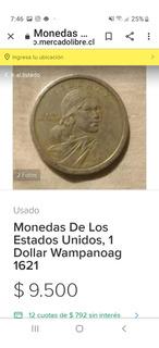 Moneda Antigua De 1621 Americana De Coleccion