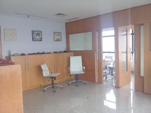 Conjunto Comercial Para Alugar, 28 M² Por R$ 3.500/mês - Ponta Da Praia - Santos/sp - Cj0101