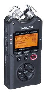 Tascam Dr-40 Grabadora De Audio Digital Portátil 4 Pistas