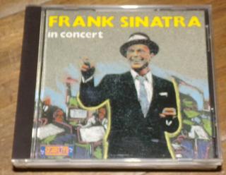 Frank Sinatra In Concert Cd Importado Impecable Kktus