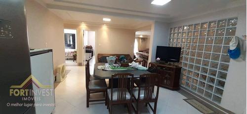 Imagem 1 de 19 de Apartamento Com 3 Dormitórios À Venda, 160 M² Por R$ 600.000,00 - Canto Do Forte - Praia Grande/sp - Ap2123