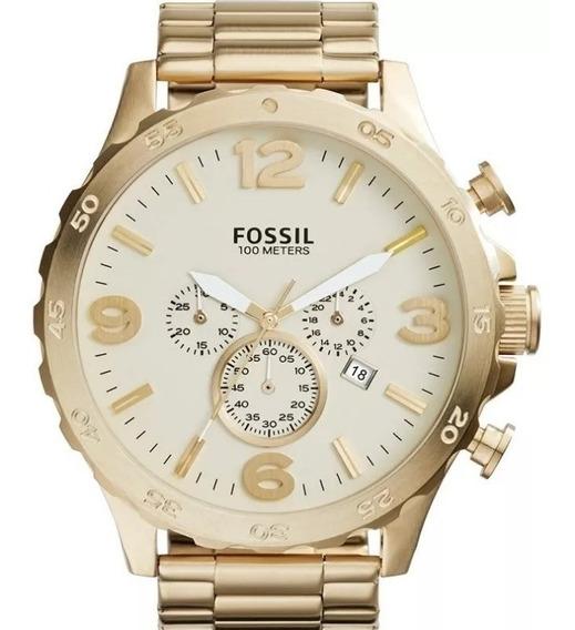 Relógio Fossil Masculino Cronógrafo Jr1479