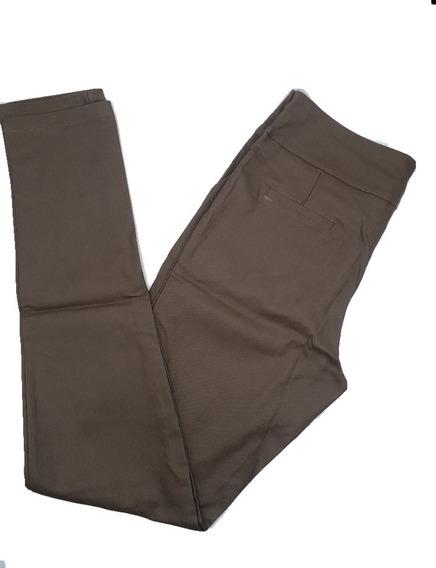 Pantalon Moda Engomado Bengalina Elastizado Tiro Alto Pa1233