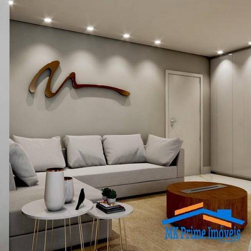 Imagem 1 de 7 de Apartamento 111m² Com 3 Dormitórios Sendo 2 Suítes Na Vila Yara!! - 2061