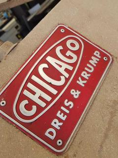 Dobladora Manual Chicago