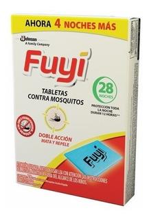 Fuyi Tabletas Para Mosquitos Caja X 28 Unidades