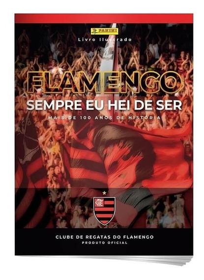 Livro Ilustrado Oficial Flamengo - Capa Cartão