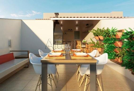 Cobertura Com 2 Dormitórios À Venda, 80 M² Por R$ 280.000 - Vila Guiomar - Santo André/sp - Co0773