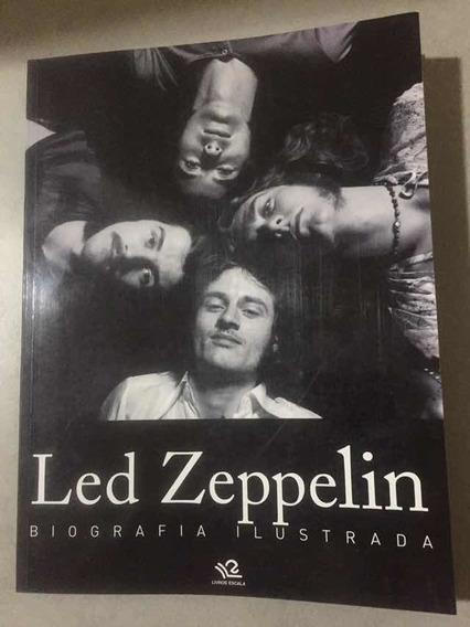 Livro Led Zeppelin Biografia Ilustrada Novo