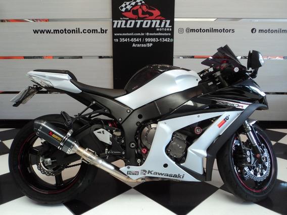 Kawasaki Ninja Zx10 R 2013 Branca