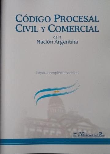 Código Procesal Civil Y Comercial Nación 2019 Grande