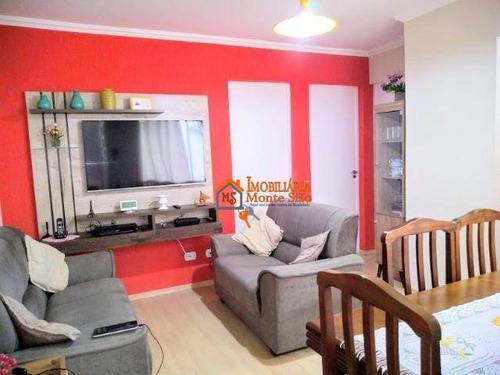 Imagem 1 de 17 de Apartamento Com 2 Dormitórios À Venda, 46 M² Por R$ 210.000,00 - Jardim Valéria - Guarulhos/sp - Ap2294