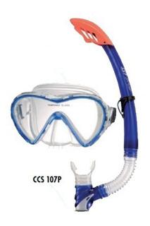Kit De Buceo Ist Silitex Ccs-104107 / 2pcs Mascara Snorkel