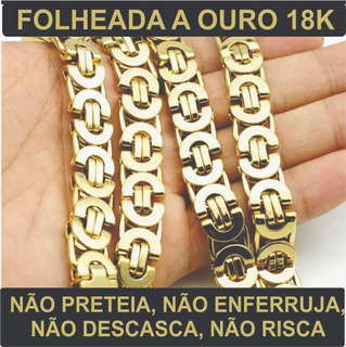 Pulseira Folheada A Ouro 18k
