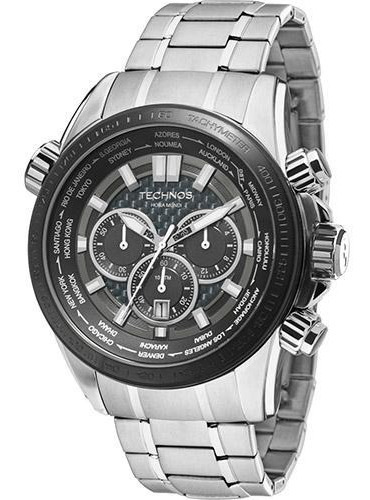 Relógio Technos Masculino Cronógrafo Os2aak/1k