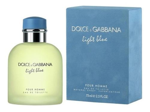 Imagen 1 de 1 de Perfume Dolce & Gabbana Blue Homme 75 Ml Original