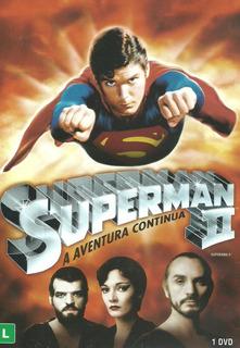 Dvd Filme - Superman 2 - A Aventura Continua (d/l/lacrado)