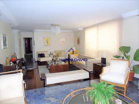 Luxuoso Apartamento Ao Lado Do Parque Aclimação, Três Dormitórios, Sendo Uma Suíte E Três Vagas - 240m² - Ap2998