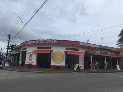 Imóvel Comercial No Bairro Gaivota, Itanhaém 400 Mts Do Mar