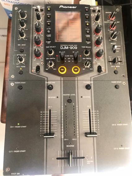 Mixer Pioneer Djm 909 Competição Traktor Serato Rekordbox