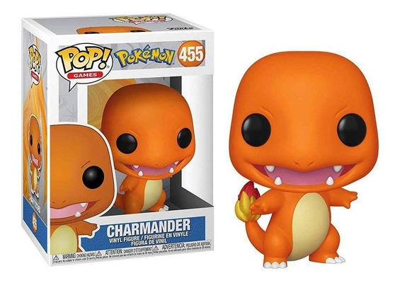 Funko Charmander Pokemon 455 Charizard Pop Games Original