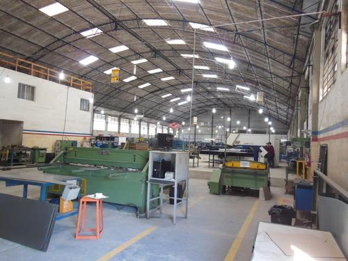 Imagem 1 de 16 de Galpão Industrial Com 2 Banheiro - Jordanópolis - São Bernardo Do Campo / Sp - 94665