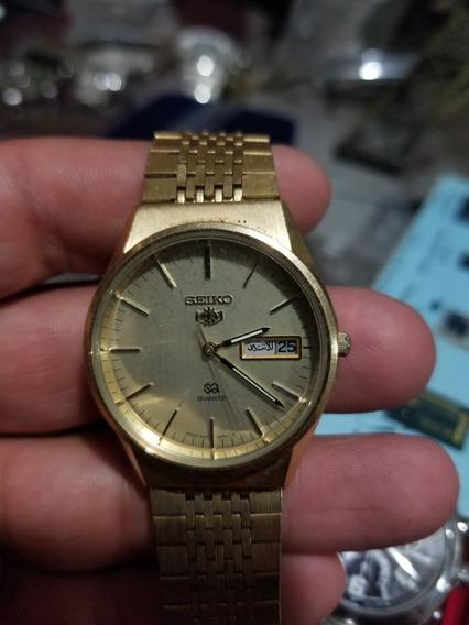 Reloj Seiko Chapa De Oro 8223-8000