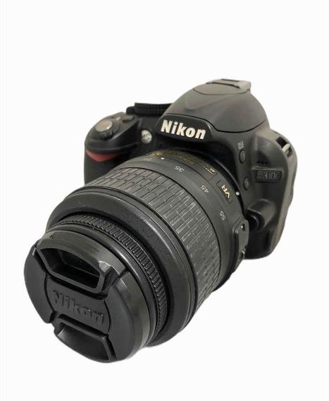 Nikon D3100 C Lente 1855 Mm 18.300 Cliques