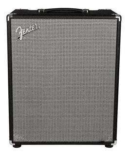 Amplificador Fender Rumble 500 500W transistor negro y plata 110V