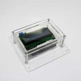 Caixa Case Para Montagem De Circuito Eletrônico M - Arduino