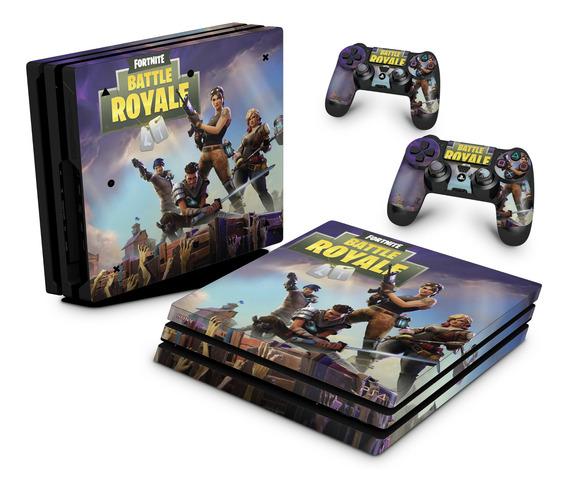 Skin Ps4 Pro Adesivo Playstation 4 Fortnite Battle Royale