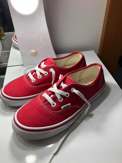 Tênis Vans Original Vermelho