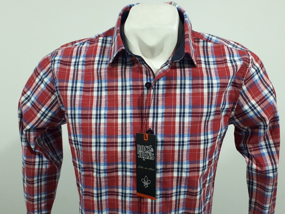 Camisa Rock And Jeans Slim Fit M/l 195749 Culiacán Sinaloa