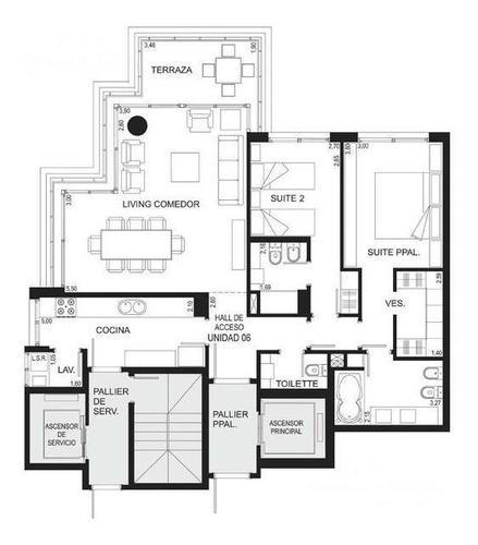Departamento - Playa Brava, Imperiale, Torre 3, 2 Suites, Toilette, Etc, Sin Muebles