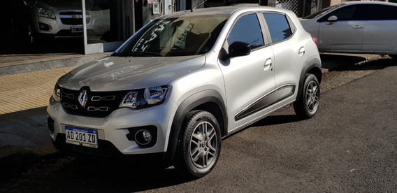 Renault Kwid 1.0 Iconic 66cv 2018 Plateado Permuto Financio