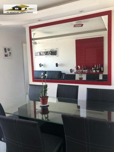 Apartamento A Venda No Bairro Cambuci Em São Paulo - Sp.  - Aps537-1