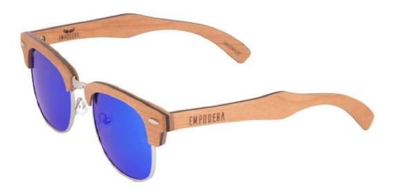 Óculos De Sol Browline Empodera + Case + Brinde