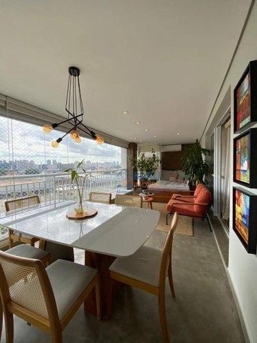 Imagem 1 de 22 de Apartamento Com 2 Dormitórios À Venda, 130 M² Por R$ 1.400.000,00 - Chácara Santo Antônio (zona Sul) - São Paulo/sp - Ap64539