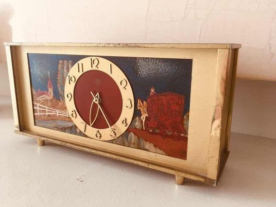 Reloj De Mesa Art Deco