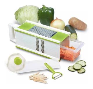 Rallador Cortador Vegetales Verduras Queso En Acero Clicshop
