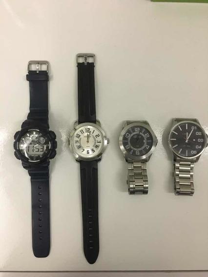 Kit Com 4 Relógios