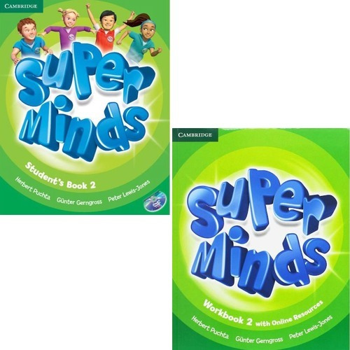 Super Minds 2 - Student´s Book And Workbook + Super Grammar