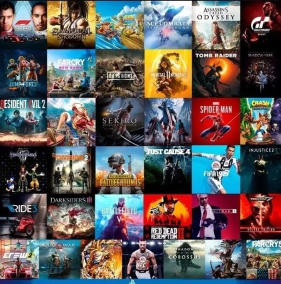 9 Jogos De Ps4 Digital 1