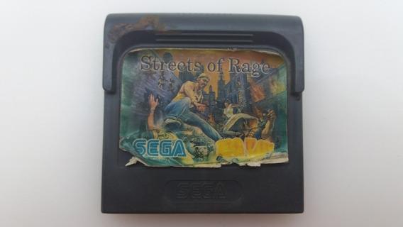 Streets Of Rage Sega Tec Toy Para Game Gear