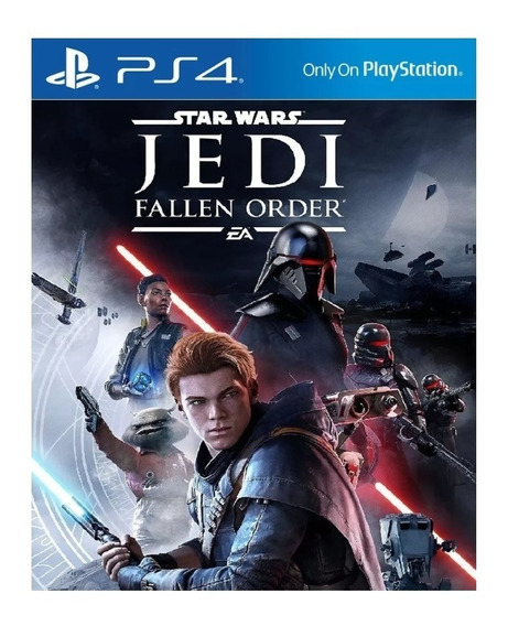 Star Wars Jedi Fallen Order Psn 1 Ps4 Mídia Digital Original